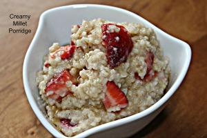 Creamy Millet Porridge